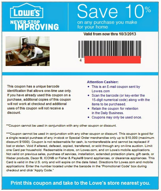 Lowes 20 off printable coupon 2018